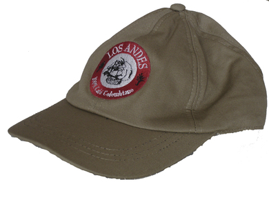 Baseball cap KAKI - beige cap - with the logo of Café LOS ANDES