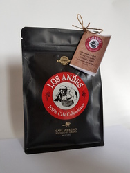 Caffee LOS ANDES 100% Colombian Coffee 100% Arabica 250 grams BEANS - Coffee from Columbia b LOS ANDES/b  100% Arabica  - Gourmet !   Single - Origin : San Agustin, Huila