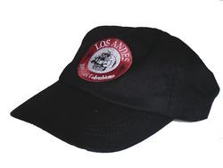 Baseball cap NEGRA - black cap - with the logo of Café LOS ANDES