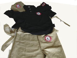 Dress LOS ANDES - LOS ANDES dress with the logo - caps, T-shirt apron etc.