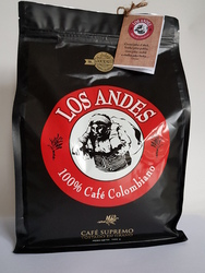Caffee LOS ANDES 100% Colombian Coffee 100% Arabica 1kgs BEANS-Caffee from Columbia b LOS ANDES/b  100% Arábica  - Gourmet ! Single - Origin : San Agustin, Huila